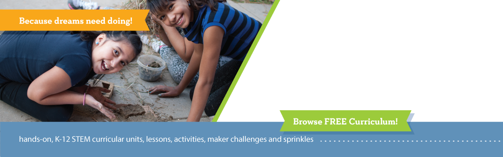 hands-on K-12 STEM curricular units, lessons, activities and sprinkles