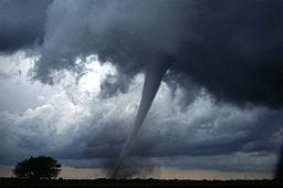 A tornado observed in central Oklahoma on May 3, 1999.