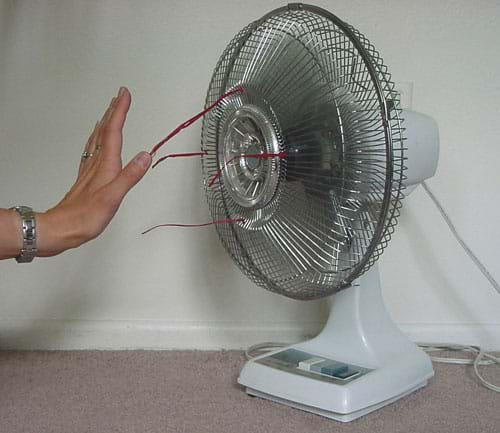 Air Moving Fans : Air is it really there activity teachengineering
