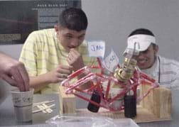 how to make a straw bridge