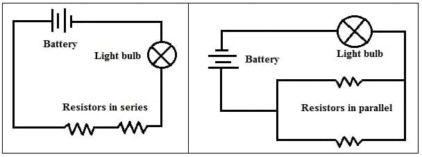 simple battery wiring diagram power