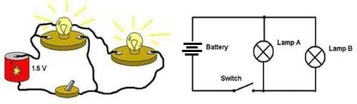 How To Run Two Lights From One Switch : Electrical Online ...