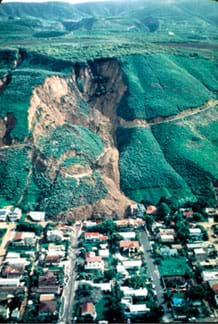 All About Landslides: Land on the Run - Lesson