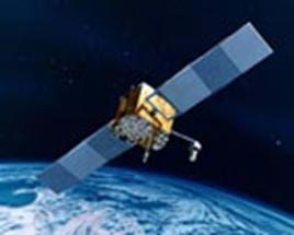 A picture of a U.S. Department of State communications satellite.