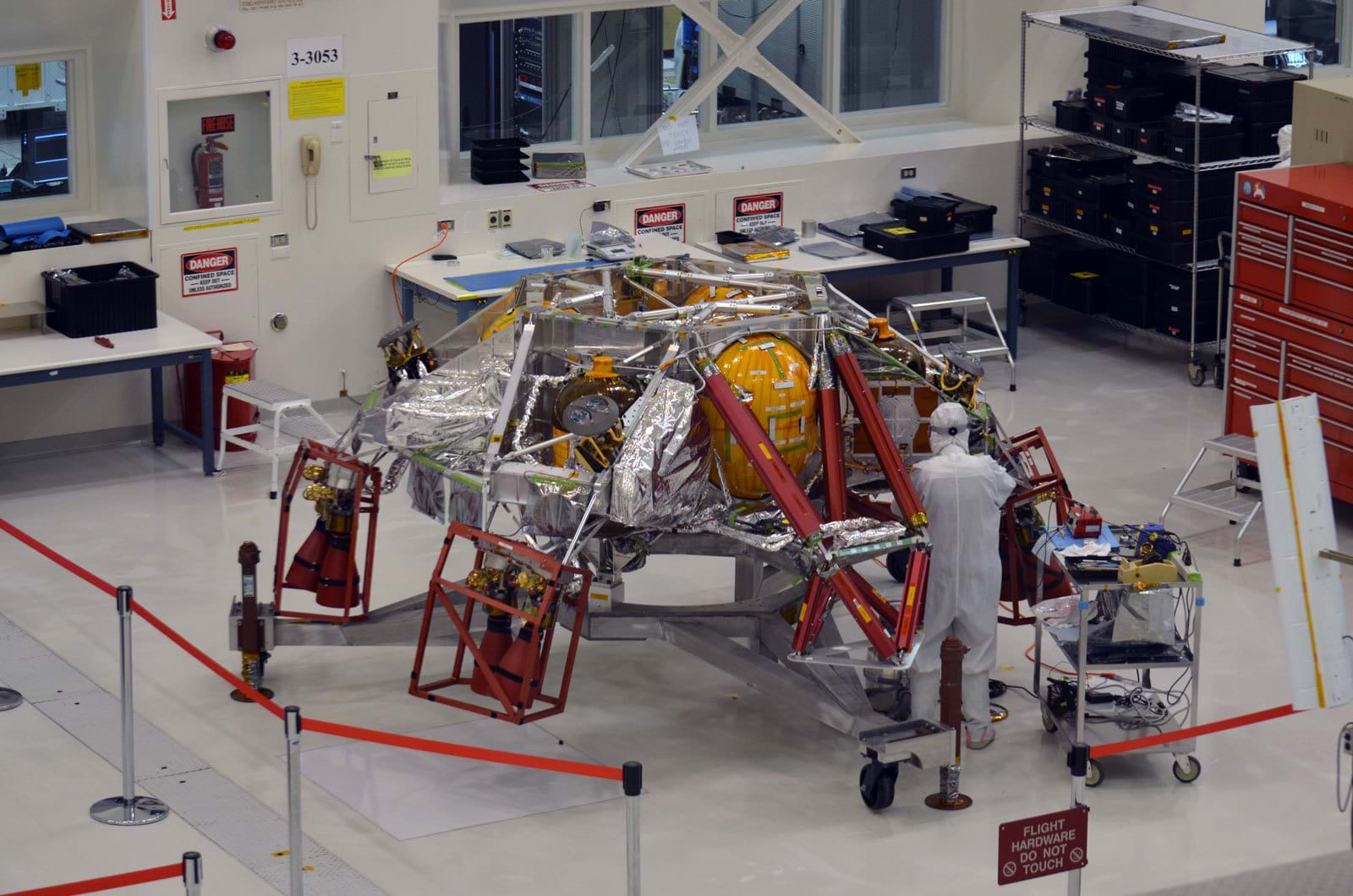 Manufacturing of NASA's Mars rover