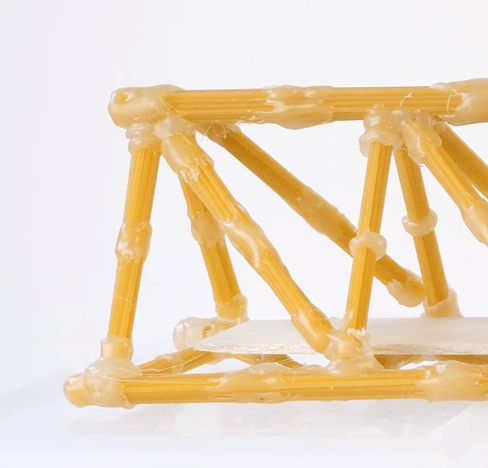 preview of 'Spaghetti Bridges' Activity