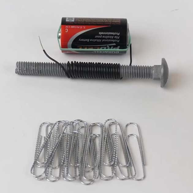 preview of 'Creating an Electromagnet' Activity