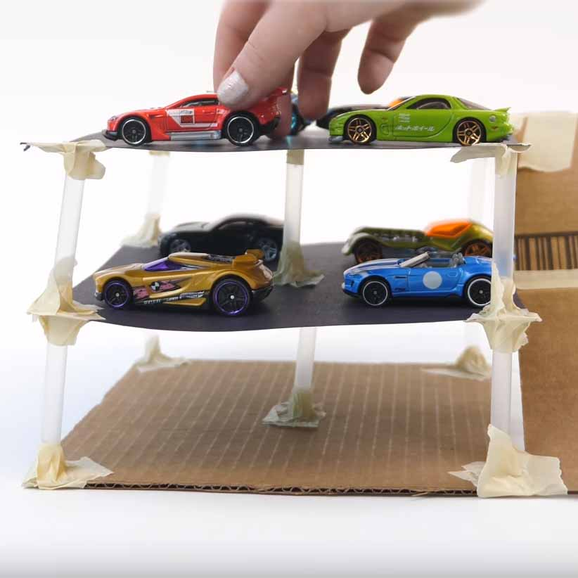 preview of 'Requirements & Constraints: Making Model Parking Garages' Activity