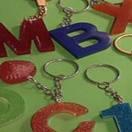 preview of 'Fabrication of a Resin Keychain or Keyring' Activity