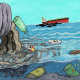 preview of 'The Great Pacific Garbage Patch' Lesson
