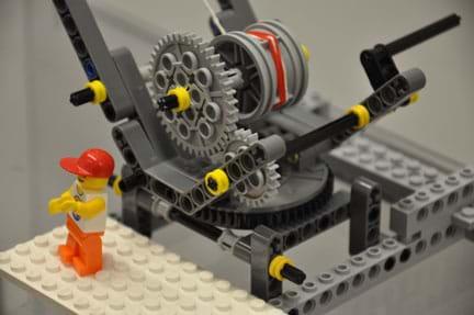 The Claw: Gear Ratios & Power Using LEGO Cranes - Activity