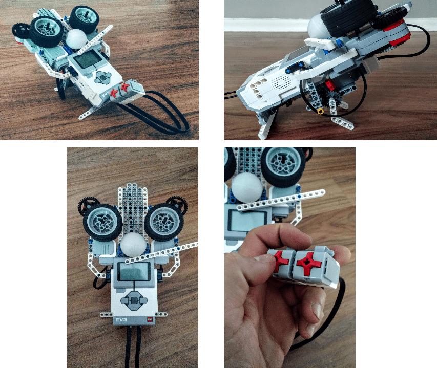 Example ball shooter robot.