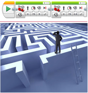 navigating a maze activity teachengineering