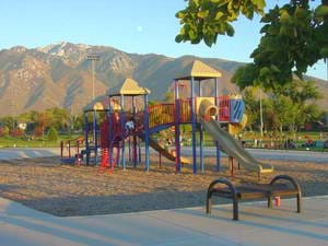 A children's playground in Utah.